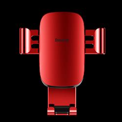 Автомобильный держатель для телефона в дефлектор Baseus Metal Age Gravity (SUYL-D09) - фото 10014