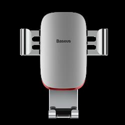 Автомобильный держатель для телефона в дефлектор Baseus Metal Age Gravity (SUYL-D02) - фото 10017