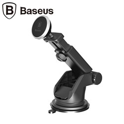 Автомобильный держатель Baseus Solid Series Telescopic Magnetic Car Mount (SULX-0R) - фото 10136