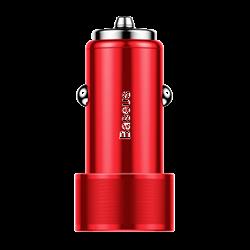 Автомобильное зарядное устройство Baseus Small Screw Dual-USB Quick Charge Car Charger 36W (CAXLD-B09)