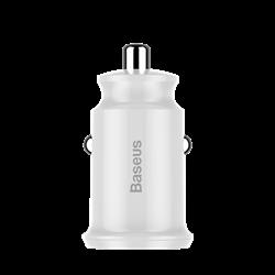Автомобильное зарядное устройство Baseus Small Rice Grain Dual-USB 3.1A Car Charger (CCALL-ML02)
