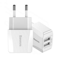Сетевое зарядное устройство Baseus Mini 2xUSB 2.1A (CCALL-MN02)