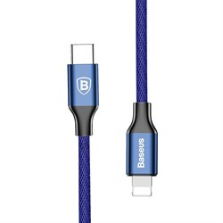 Кабель Baseus Yiven Series Type-C to IP Cable 1M Синий (CATLYW-A03) - фото 10346