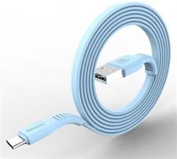 Кабель Baseus tough series cable For Type-C 2A 1M, Голубой (CATZY-B03) - фото 10480