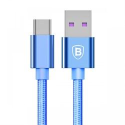 Кабель Baseus Speed Type-C QC Cable For HUAWEI Type-C , Голубой (CATKC-03) - фото 10497