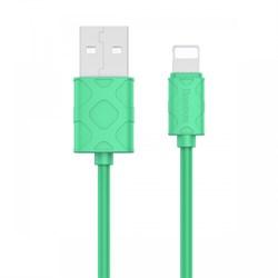 Кабель Baseus Yaven Lightning Cable For Apple 1M , Светло зеленый  (CALUN-06) - фото 10584
