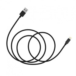 Кабель Baseus Simple Version of AntiLa Series MFI Metal Charging Cable 1.8M For Apple, Черный (CAETRTC-MFC01) - фото 10599