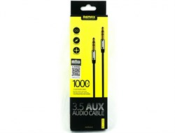 AUX кабель Remax 3.5 AUX audio cable (1m) - фото 10909