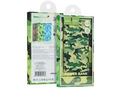 Внешний аккумулятор Hoco J9 Camouflage series 10000mAh (green) - фото 11000