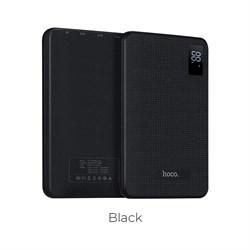 Внешний аккумулятор Hoco B24- Pawker Power bank (30000 mAh)  black - фото 11025