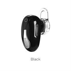Bluetooth-гарнитура Hoco E12 beetle mini bluetooth earphone (black) - фото 11071