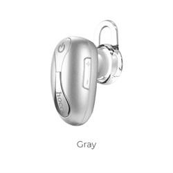 Bluetooth-гарнитура Hoco E12 beetle mini bluetooth earphone (gray) - фото 11073