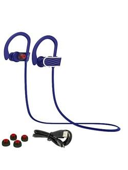 Спортивные Bluetooth наушники Hoco ES7 Stroke&embracing (Синий) - фото 11104