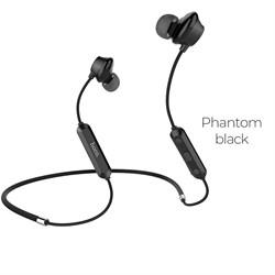 Беспроводные Bluetooth наушники Hoco ES17 Cool music  (Черный фантом) - фото 11108