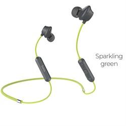 Беспроводные Bluetooth наушники Hoco ES17 Cool music (Сверкающе-зеленый) - фото 11110
