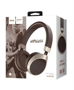 Беспроводные Bluetooth наушники Hoco W12 Dream sound (Кофейный) - фото 11146