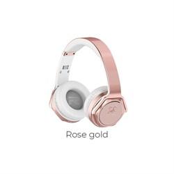 Беспроводные Bluetooth наушники Hoco W11 Listen ( Розовое золото) - фото 11148