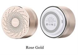 Беспроводная портативная колонка Hoco BS5 Swirl (Розовое золото) - фото 11177