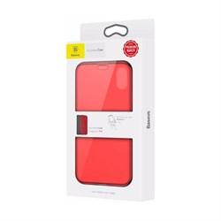 Чехол-книжка Baseus Touchable Case (WIAPIPH58-TS09) для iPhone Xs (Red) - фото 11487