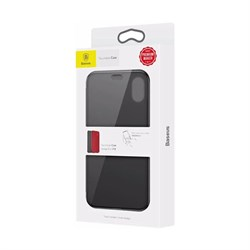 Чехол-книжка Baseus Touchable Case (WIAPIPH58-TS01) для iPhone Xs (Black) - фото 11489