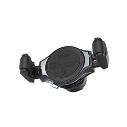 Автомобильный держатель HOCO S1 in-car wireless charging phone holder - фото 11496