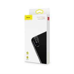 Защитное стекло Baseus Camera Lens GlassFirm (SGAPI65-JT02) для iPhone Xs Max - фото 11507