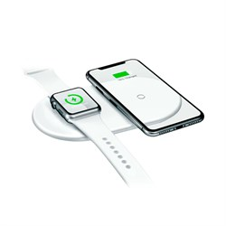 Беспроводная зарядка Baseus Smart 2in1 wireless (WX2IN1-02)