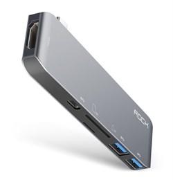 Rock Single USB Type-C Almighty Hub RCB0596 - фото 11720
