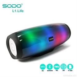 Беспроводная  портативная  Bluetooth Колонка SODO L1 life - фото 12122