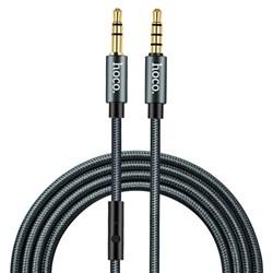 Кабель HOCO UPA04 Noble sound series AUX audio cable  (с микрофоном) - фото 12687