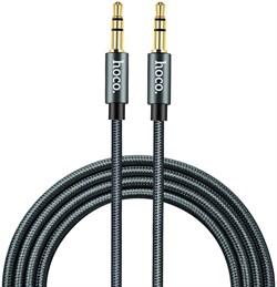 Кабель HOCO UPA03 Noble sound series AUX audio cable - фото 12691