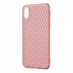 Чехол Baseus BV Case (2nd generation) For iP X/XS (2018) Pink (WIAPIPH58-BV04) - фото 12997