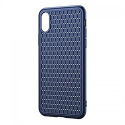 Чехол Baseus BV Case (2nd generation) For iP XS Max (2018) Blue (WIAPIPH65-BV03) - фото 12999