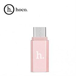 Переходник HOCO с Micro-USB на  Type-C - фото 13031