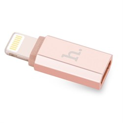 Переходник HOCO с Micro-USB на Lightning - фото 13041