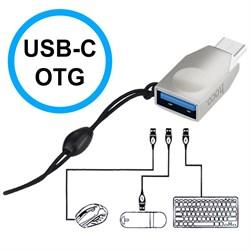 Адаптер Hoco UA9 USB - Type-C OTG - фото 13089
