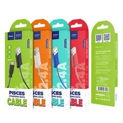 Кабель Hoco X24 Pisces charging data cable for Type-C - фото 13506