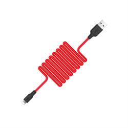 Кабель Hoco X21 Silicone Lightning charging cable - фото 13538