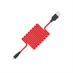 Кабель Hoco X21 Silicone Micro charging cable - фото 13550