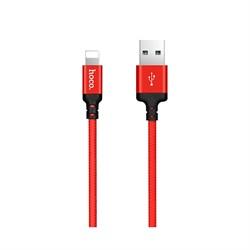Кабель Hoco X14 Times speed lightning charging cable (L=1M) - фото 13647