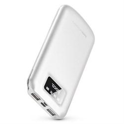 Внешний аккумулятор Hoco B26-BeiTan power bank (10000 mAh)  white - фото 15491