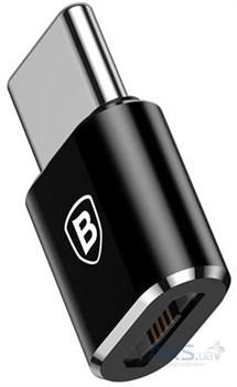 Переходник Baseus Micro Female To Type-C Male Adapter Converter (CAMOTG-01) - фото 15904
