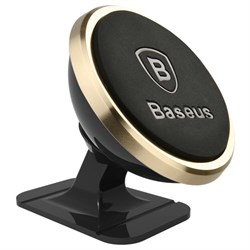 Автомобильный держатель Baseus 360-degree Rotation Magnetic Mount Holder (Paste type) (SUGENT-NT0V) - фото 19767