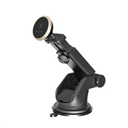 Автомобильный держатель Baseus Solid Series Telescopic Magnetic Car Mount (SULX-0V) - фото 19921