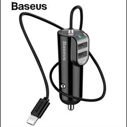 Автомобильные зарядные устройства Baseus energy station with line multi car charger (CCNL-01)