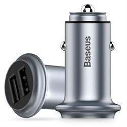 Автомобильное зарядное устройство Baseus UFO Dual U smart car charge (CCUFO-16)