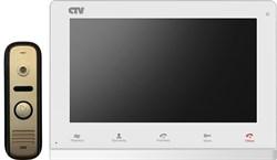 Комплект видеодомофона CTV-DP2100 Белый - фото 8762