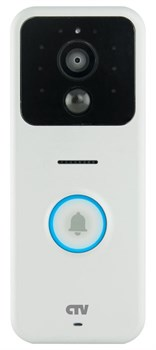 CTV-DP5000IP Комплект мобильного видеодомофона Белый - фото 8797
