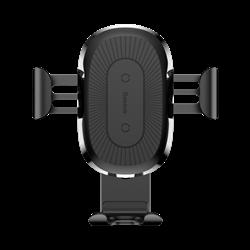 Автомобильный держатель с функцией беспроводной зарядки Baseus Wireless Charger Gravity Car Mount (WXYL-01) - фото 8998