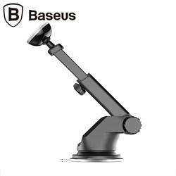 Автомобильный держатель Baseus Solid Series Telescopic Magnetic Car Mount (SULX-0S) - фото 9075